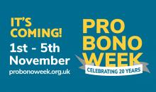 Pro Bono Week is coming!