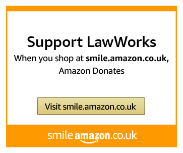 Support LawWorks as you shop on Amazon Smile