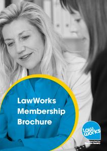 LawWorks Membership Brochure