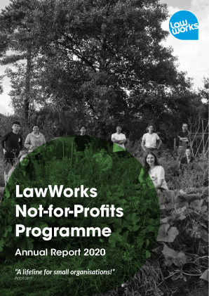 LawWorks Not-for-Profit Programme Annual Report 2020