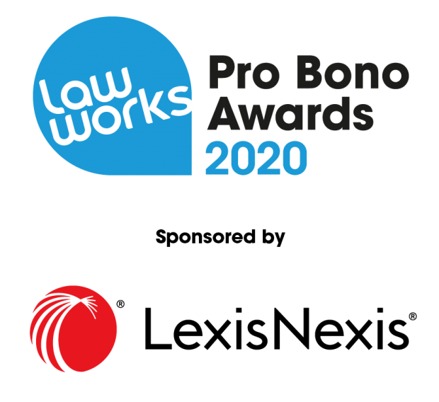 LawWorks Pro Bono Awards 2020 sponsored by Lexis Nexis