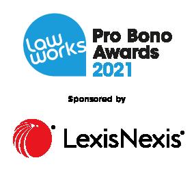LawWorks Pro Bono Awards 2021 are sponsored by Lexis Nexis