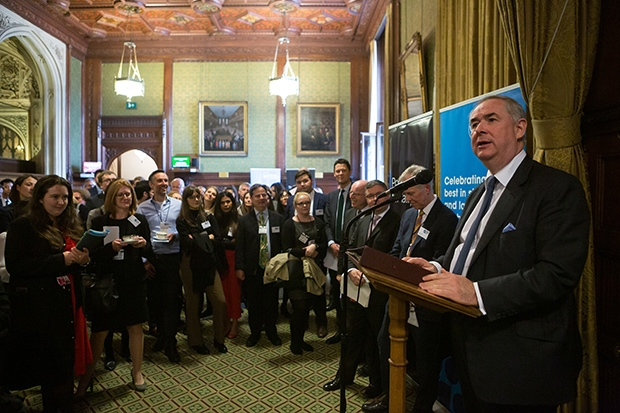 The Attorney General, the Right Hon. Geoffrey Cox MP, QC.