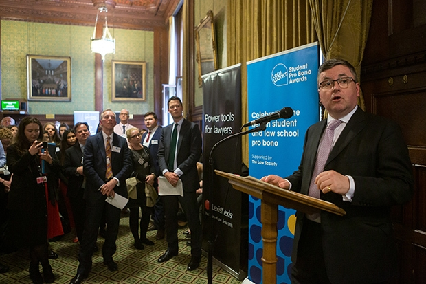 The Solicitor General, the Right Hon. Robert Buckland MP QC