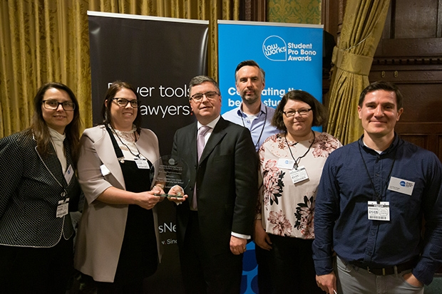 Best Legal Tech Contribution: Open Justice Law Clinic, The Open University Law School