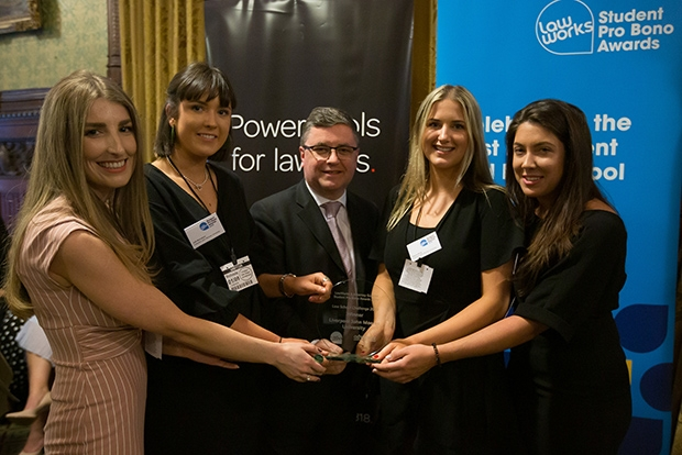 Law School Challenge 2018/19 Winners: Liverpool John Moores University