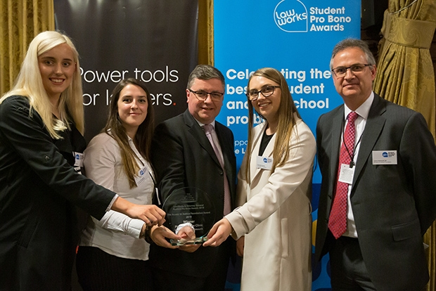 Access to Justice Foundation Award: University of Plymouth Street Law Clinic